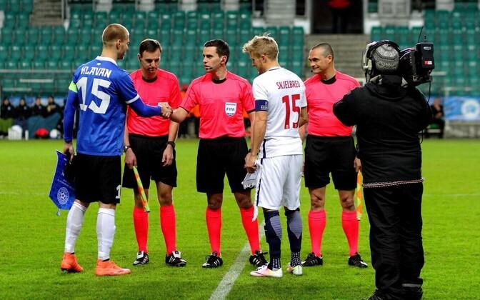 Eesti jalgpallikoondise kapten Ragnar Klavan