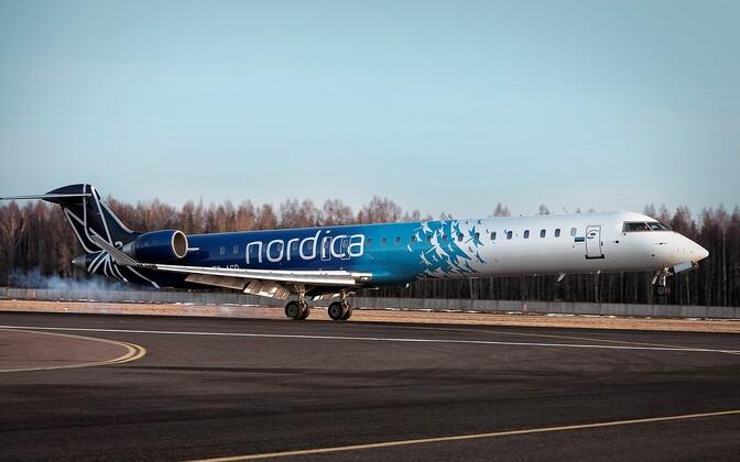 Nordica's Bombardier CRJ900