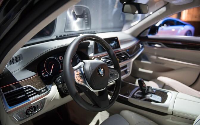 Угонщики предпочитали машины BMW.