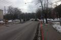 Uus-Maleva ja Kopli tänavate ristmik, Põhja-Tallinn. Selle ja järgnevate reguleerimata ülekäiguradade märgistus on kulunud. PPA teeb jalakäijate ohutuse tagamiseks ettepaneku liigutada 30km/h piirangu ala kehtivust enne reguleerimata ülekäigurada Uus-Male