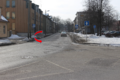 Telliskivi ja Ristiku tänavate ristmik, Põhja-Tallinn. Ristmiku peamine probleem on kulunud teekattemärgistus. Võimaluse korral tuleks teekattemärgistust uuendada ka Mulla tänava reguleerimata ülekäigurajal.