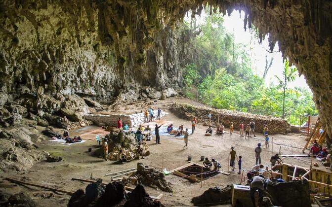 Liang Bua koobas.