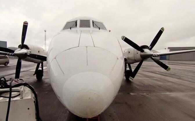 Самолеты в Кярдла временно не летают.