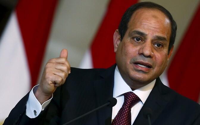 Egiptuse president Abdel Fattah al-Sisi-