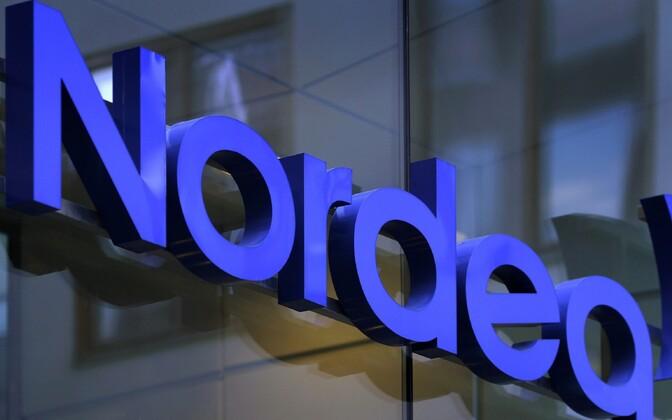 Nordea logo.