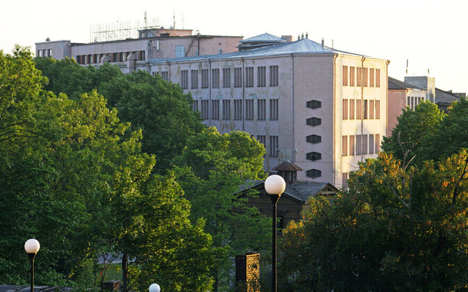 Eesti Kunstiakadeemia uus maja aadressil Kotzebue 1
