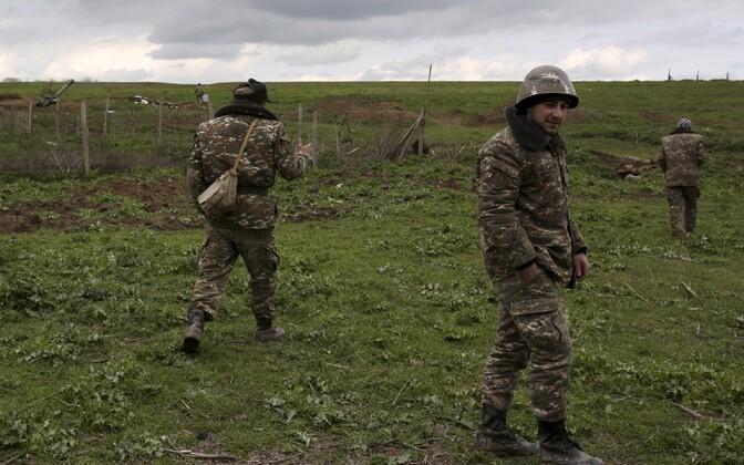 Mägi-Karabahhi võitlejad 4. aprillil.