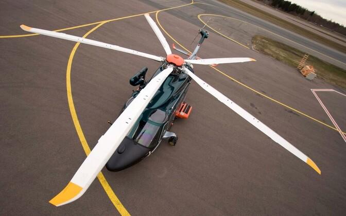 PPA lennusalga helikopter.
