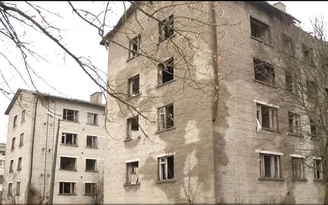 Заброшенные дома в Кохтла-Ярве.