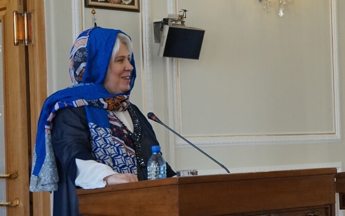 Can't please everyone: Minister of Foreign Affairs Marina Kaljurand in Iran, April 2016.