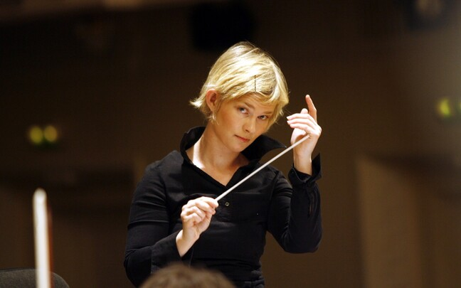 Estonian conductor Anu Tali.