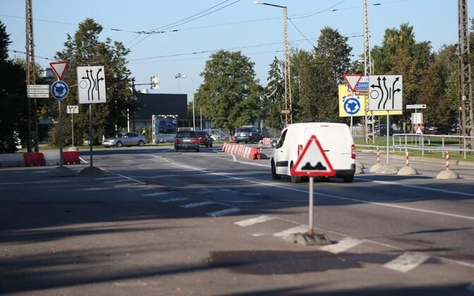Haabersti ristmik on üks suuri teeprojekte, mida järgmisel aastal tegema hakatakse.