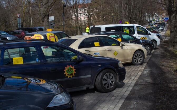 Taksod Tallinnas.