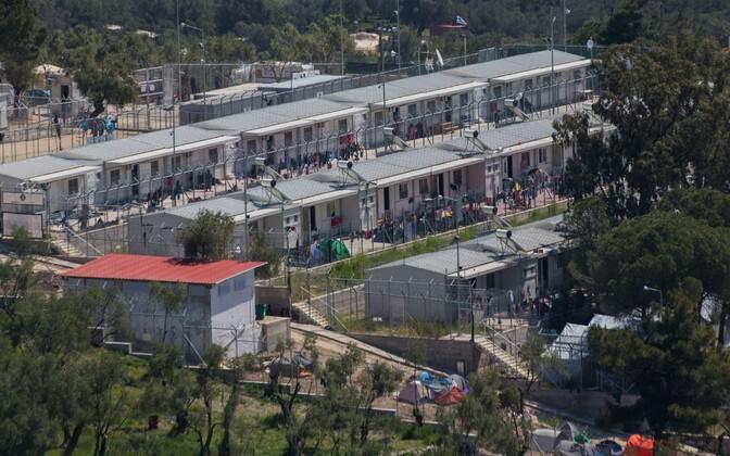 Moria kinnipidamiskeskus Lesbose saarel.