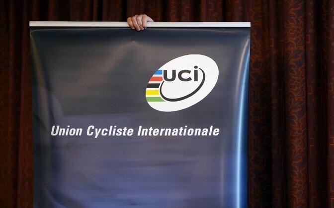 Rahvusvahelise Jalgrattaliidu (UCI) logo