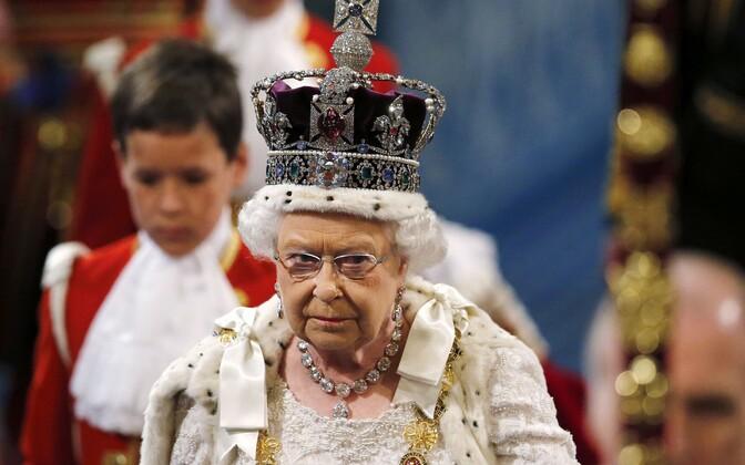 Королева Британии Елизавета II.