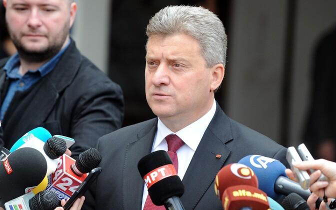 Makedoonia president Gjorge Ivanov.