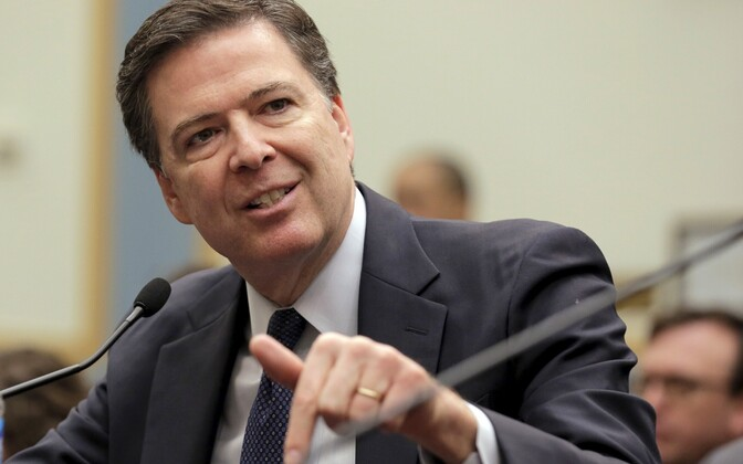 FBI direktor James Comey.