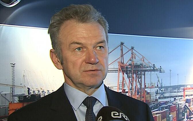 EVR's CEO, Erik Laidvee.