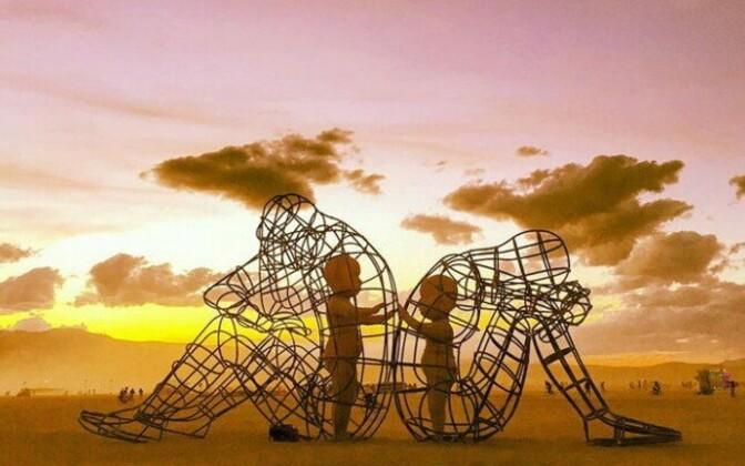 Kaader ukraina skulptori Alexander Milovi filmist, mis kujutab konfliktide mõju inimese sisemisele lapsele.