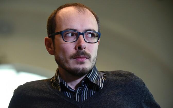 Antoine Deltour Luksemburgi kohtus 2016. aastal.