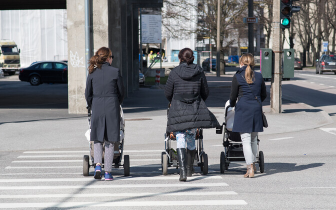 Estonia's population numbers remain on the decline.