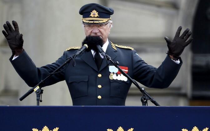 Rootsi kuninga Carl XVI Gustafi 70. sünnipäev.
