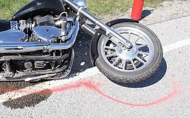 Мотоцикл. Иллюстративная фотография.