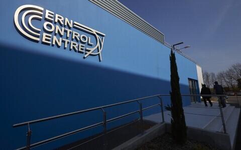 CERN-i keskus Genfis.