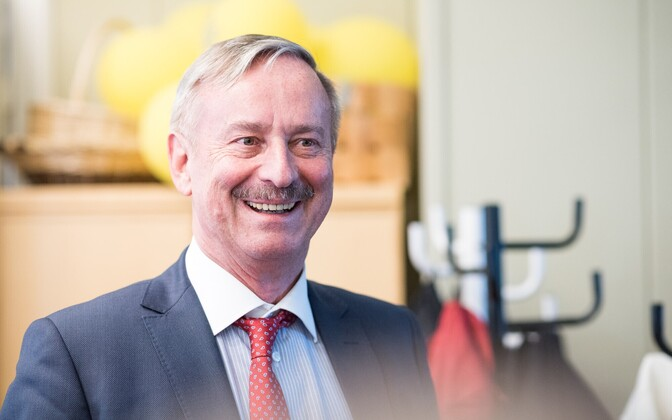 Former Vice President of the European Commission and current presidential hopeful Siim Kallas