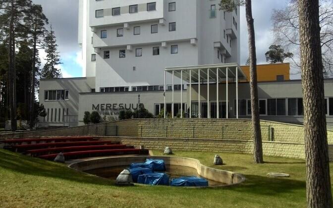 Спа-отель Meresuu в Нарва-Йыэсуу. Иллюстративная фотография.