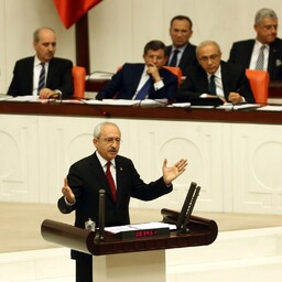 Türgi Vabariikliku Rahvapartei (CHP) esimees Kemal Kilicdaroglu.