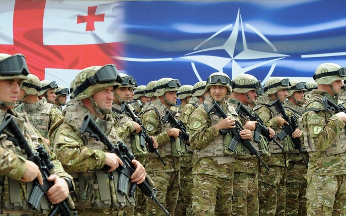 Gruusia sõdurid.