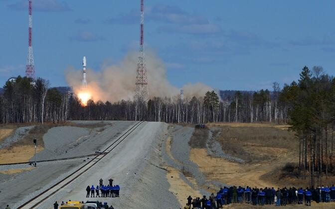 Kanderaketi Sojuz-2.1a start 28. aprillil.