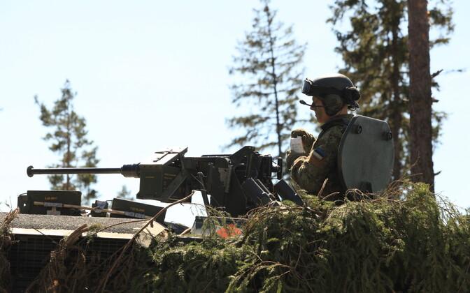 Liitlased harjutavad Kevadtormil 1. jalaväebrigaadi koosseisus koostööd.