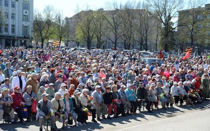 9 мая в Нарве.