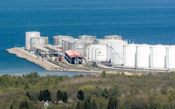 Pakterminal Muuga sadamas