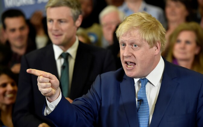 Endine Londoni linnapea Boris Johnson on asunud David Cameroni tugevalt ründama.