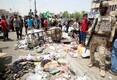 Bagdad pärast tänast pommiplahvatust.