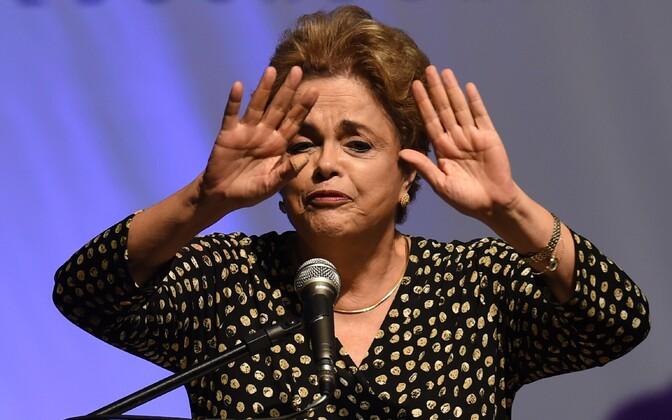 Brasiilia president Dilma Rousseff