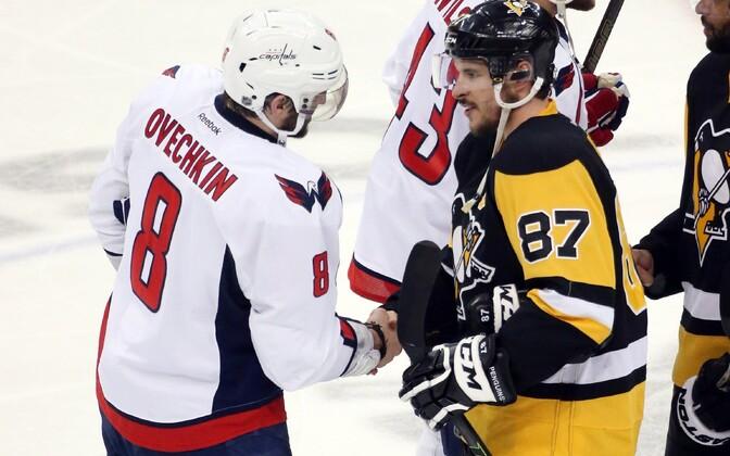Aleksandr Ovetškin (Washington Capitals), Sidney Crosby (Pittsburgh Penguins)