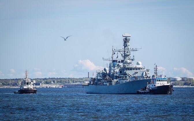 Корабли НАТО в порту Таллинна