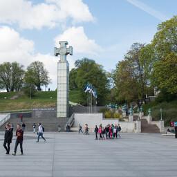 Площадь Вабадузе в Таллинне.