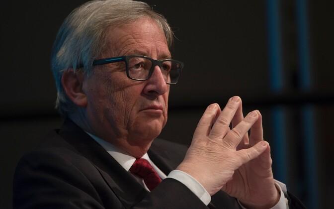 Euroopa Komisjoni president Jean-Claude Juncker.