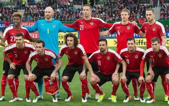 Austria jalgpallikoondis