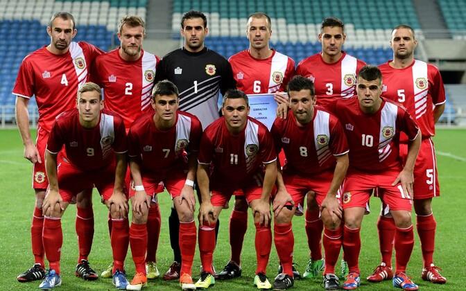 Gibraltari jalgpallikoondis.