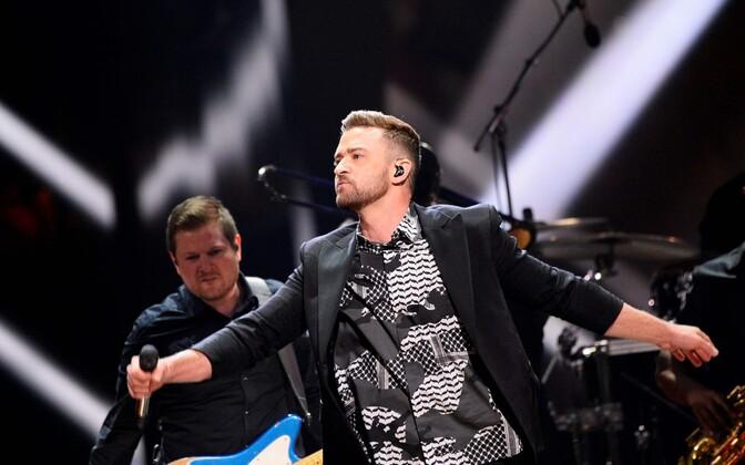 Popstaar Justin Timberlake