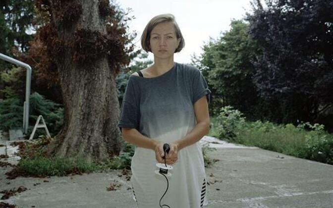 Maria Kapajeva autoportree