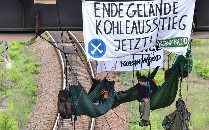 Keskkonnaaktivistid.
