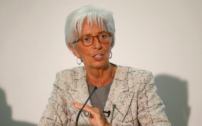 Allkirja andis ka Christine Lagarde.
